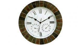 About Time Garden Outdoor Wall Clock