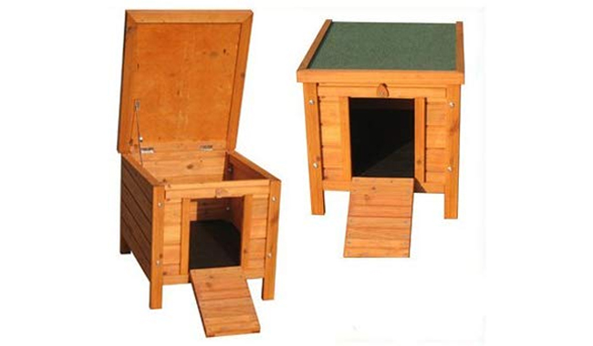 Bunny Business Rabbit Hide House