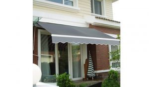 COSTWAY Manual Awning Canopy