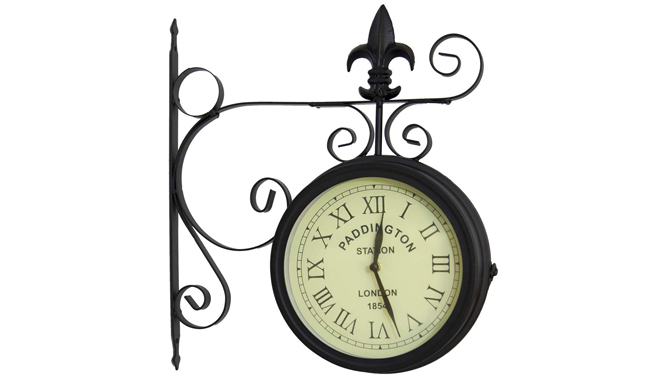 Charles Bentley Paddington Outdoor Wall Clock