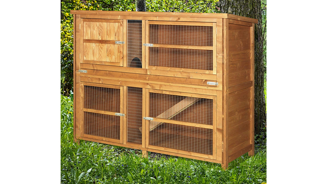 Chartwell Double Luxury Rabbit Hutch