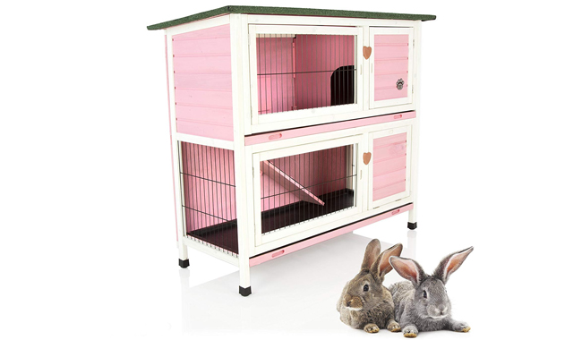 Cozy Pet Rabbit Hutch