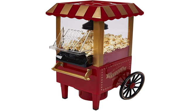 FUSION ® Red Electric Mini Carnival Popcorn Maker