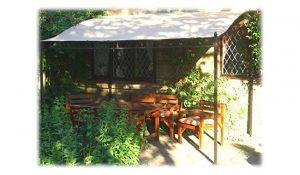Garden Classics ADSTOCK WALL GAZEBO AWNING