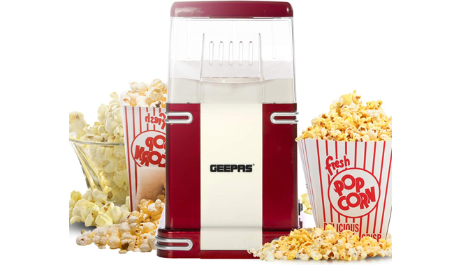 Geepas 1200W Electric Popcorn Maker