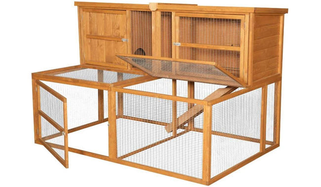 Kendal Outdoor Rabbit Hutch