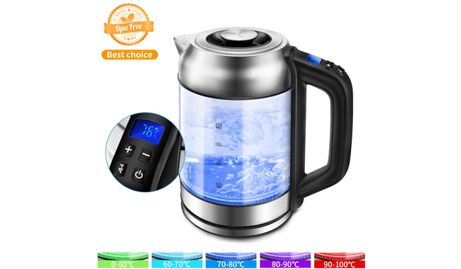 Morpilot Glass Electric Kettle