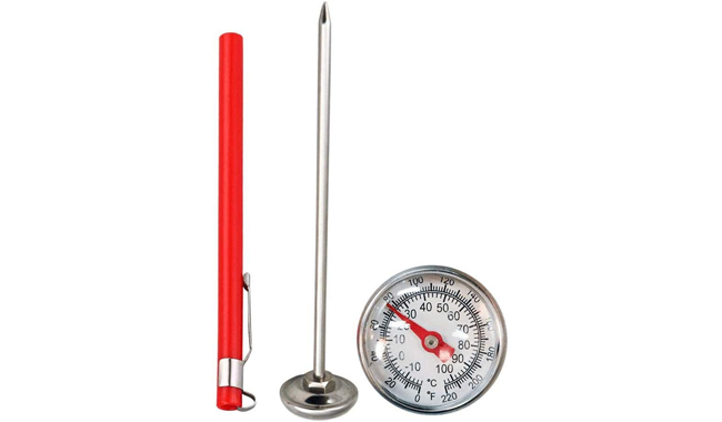 Navigatee Stainless Steel Soil Thermometer