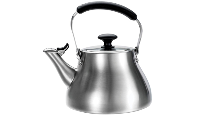 The stovetop kettle is a design that's