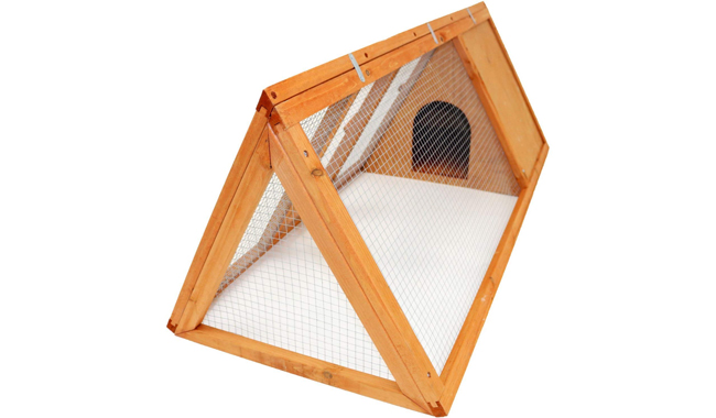 Oypla Wooden Rabbit Hutch Cage