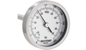 REOTEMP A48FR-D43 Super Duty Compost Thermometer