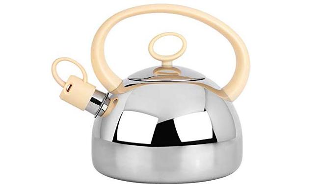 Grunwerg Stove Top Whistling Kettle Stainless Steel 3 litre