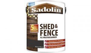 Sadolin Shed & Fence Woodstain Ebony Wood