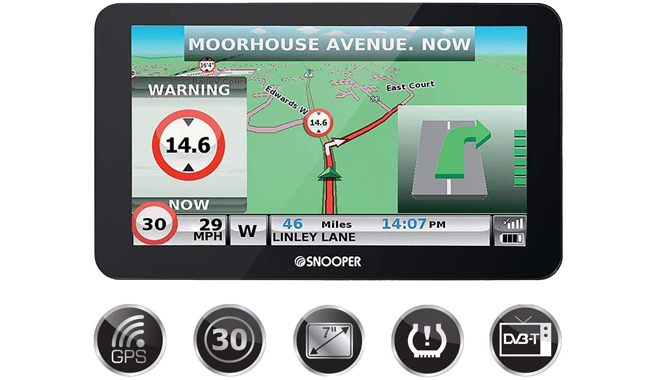 Snooper Truck Mate S8110 HGV Satellite Navigation System