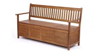TRUESHOPPING Garden or Hallway Storage Bench