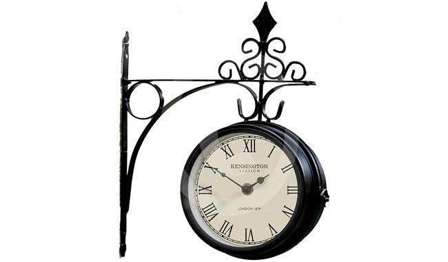 The Garden & Home Co. 17239 Kensington Station Clock