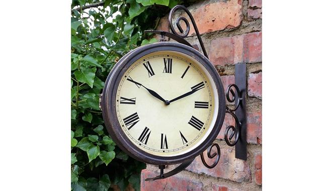 Warwick Outdoor Garden Clock