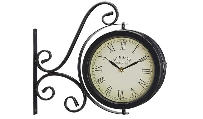 Wyegate Garden Outdoor Garden Clock