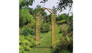 Gardman Elegant Wooden Garden Arch