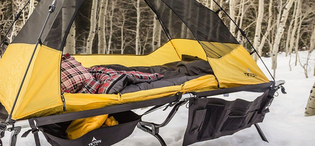 Best Camping Bed Banner Image