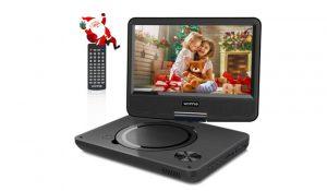 WONNIE 2019 Upgrade 11.5- Portable DVD Player