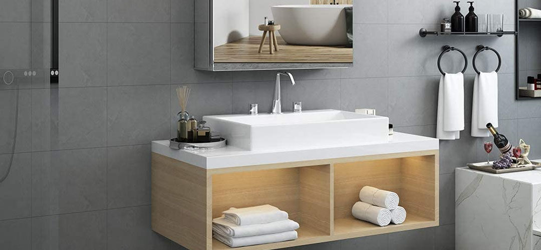 Best bathroom mirror cabinets Banner Image