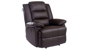 Loxley Bonded Leather Recliner