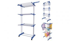 MultiWare 3-Rack 2-Wings Clothes Airer