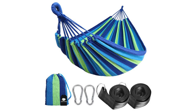 Anyoo Outdoor Cotton Hammock