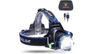 KINGTOP Waterproof LED Head Torch