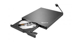 Lenovo 4XA0E97775 ThinkPad UltraSlim USB DVD Burner