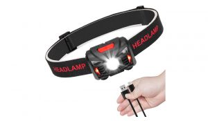 Linkax USB Rechargeable LED Head Torch