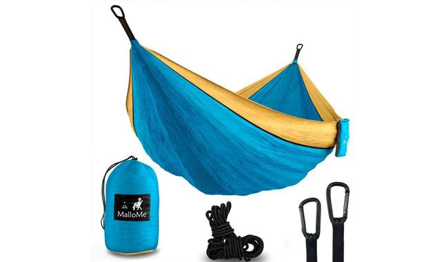 MalloMe XL Parachute Camping Hammock