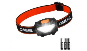 OMERIL USB Rechargeable Head Torch
