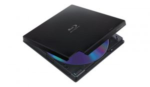 Pioneer BDR-XD05B Slim External Blu Ray Writer