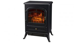 HOMCOM Freestanding Electric Fire Place