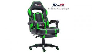 JR Knight LC-04BKBL Ergonomic Gaming Chair
