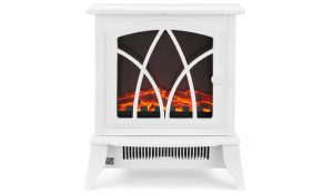 NETTA Electric Fireplace Stove Heater with Flame Effect