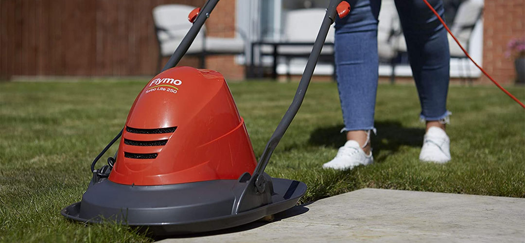 Best Electric Lawn Mowers UK Banner Image