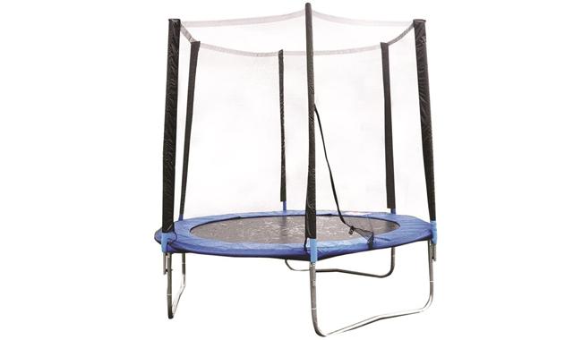Deals Online Outdoor Garden Children's Bouncy Trampoline & Safety Net Enclosure