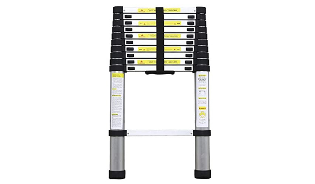 Parkerbrand TELESCOPIC ALUMINIUM Ladder