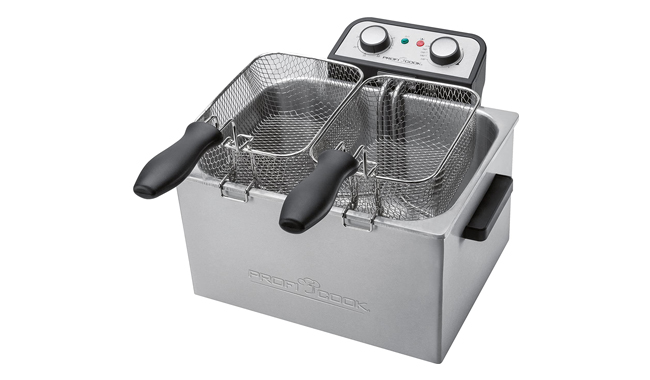 ProfiCook PC-FR 1038 Double Deep Fatfryer