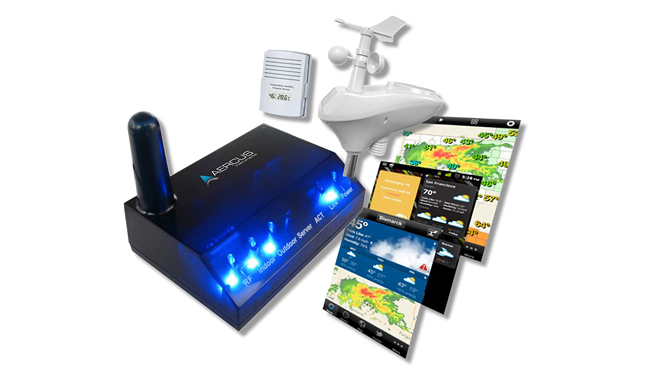 Aercus Instruments WeatherSleuth Wireless Weather Station