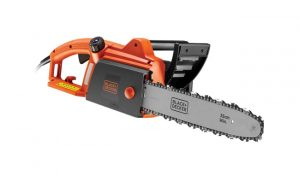 Black and Decker Black Corded Chainsaw