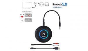 Golvery Bluetooth 5.0 Transmitter Receiver