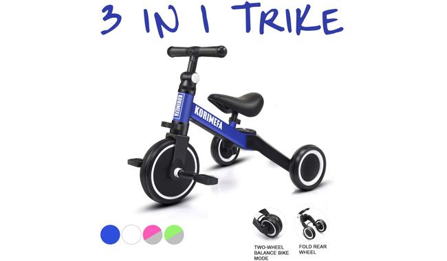 Korimefa AS006 3-in-1 Kids Trike