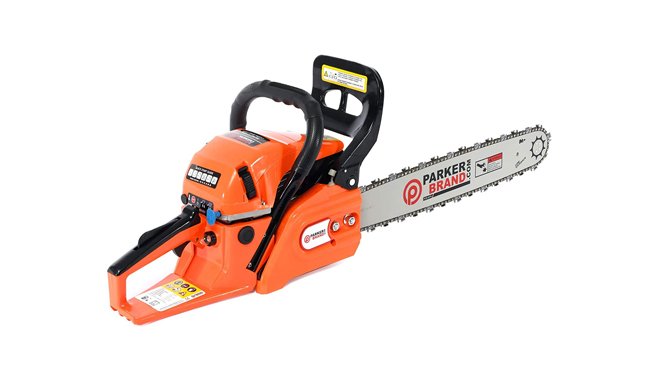 ParkerBrand 58cc 20″ Petrol Chainsaw
