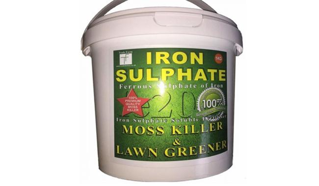 Premium Iron Sulphate Moss Killer