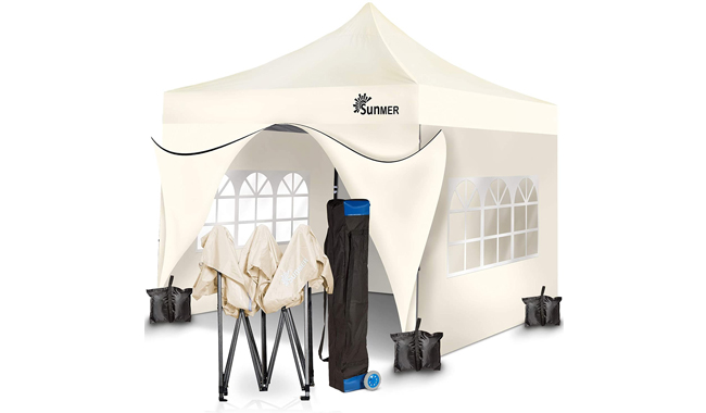 SUNMER 3x3m Pop Up Gazebo