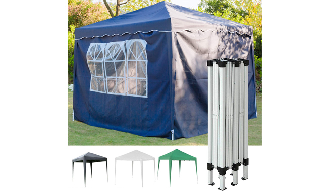 SiKy 4 Sides Pop Up Gazebo